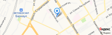 Эльвира на карте Барнаула