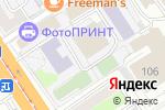 Схема проезда до компании Мой танец в Барнауле