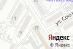 Схема проезда до компании Ростехинвентаризация-Федеральное БТИ в Барнауле