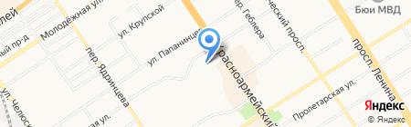 GSM-сервис на карте Барнаула