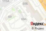 Схема проезда до компании АСВ в Барнауле