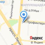 Следственное управление УМВД России по г. Барнаулу на карте Барнаула