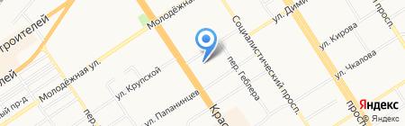 Suerte на карте Барнаула