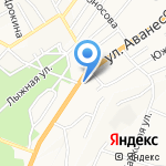 ВЕРЕС на карте Барнаула
