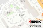 Схема проезда до компании Забота в Барнауле