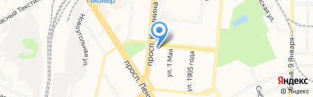 Прометей-Центр на карте Барнаула