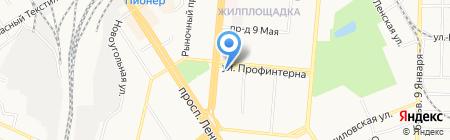 Группа Ренессанс Страхование на карте Барнаула