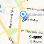 АР-ДЕКО на карте Барнаула