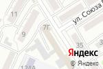 Схема проезда до компании Волшебное платье в Барнауле