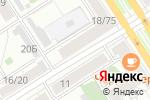 Схема проезда до компании Комплимент в Барнауле