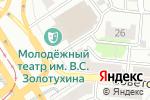 Схема проезда до компании Счастливый день в Барнауле