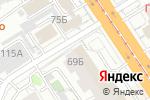 Схема проезда до компании Империя обуви в Барнауле