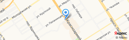 Доктор Фэшн на карте Барнаула