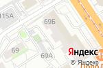 Схема проезда до компании Дентал Премиум в Барнауле