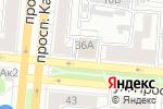 Схема проезда до компании Speak in English в Барнауле