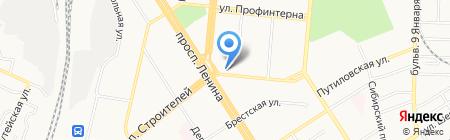 Ворота Мастер на карте Барнаула