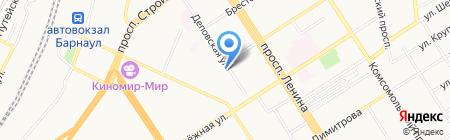 Клуб правильного питания на карте Барнаула