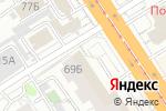 Схема проезда до компании LADY в Барнауле