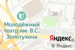 Схема проезда до компании ПЖЭТ-2 Октябрьского района в Барнауле