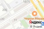 Схема проезда до компании КБ Агропромкредит в Барнауле