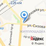 Компьютерная помощь №1 на карте Барнаула