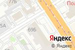 Схема проезда до компании КроссПарк в Барнауле