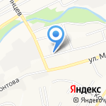 Новосел на карте Барнаула