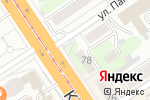 Схема проезда до компании АвтоСтоп в Барнауле