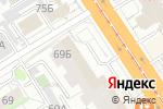 Схема проезда до компании Олип в Барнауле