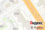 Схема проезда до компании Модный шаг в Барнауле