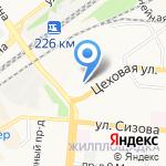 АВТОДОНОР на карте Барнаула