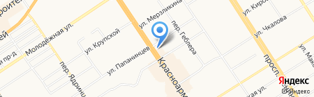 АвтоСтоп на карте Барнаула