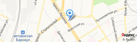 Правовед на карте Барнаула