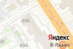 Схема проезда до компании Трэйс в Барнауле
