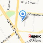 Автодром Барнаул на карте Барнаула