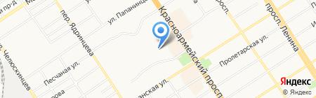 Хелен Хаус на карте Барнаула
