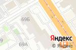 Схема проезда до компании Браво в Барнауле