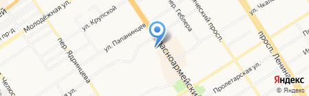 ШубаМания на карте Барнаула