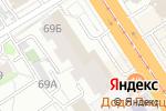 Схема проезда до компании Инди Go в Барнауле