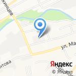 Абсолютбытхолод на карте Барнаула
