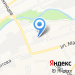 Гидравлика на карте Барнаула