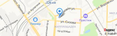 StellaSoft на карте Барнаула