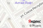 Схема проезда до компании Сибирское здоровье в Барнауле