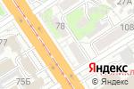 Схема проезда до компании Одёжка в Барнауле