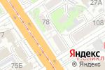 Схема проезда до компании iTech в Барнауле