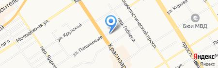 Финская обувь на карте Барнаула
