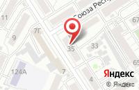 Схема проезда до компании Глорион Инфо-Мед в Барнауле