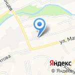 Сухой лес на карте Барнаула