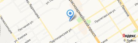 Одежда для всей семьи на карте Барнаула