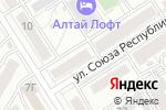Схема проезда до компании Фунтик в Барнауле